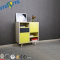 Nordic Style Metal Sideboard Steel Chest Drawers Bookcase Media Unit Cabinet Design