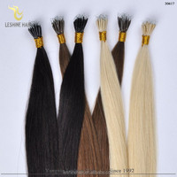 Virgin Remy Best quality Double Drawn Full Cuticle remove nano hair extension ombre