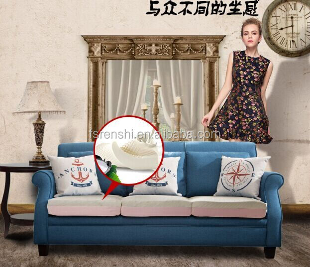 Small sofa for seating room furniture / Cheap price sofa in Guangdong/ Wholesales solid wood sofa on sale J011#