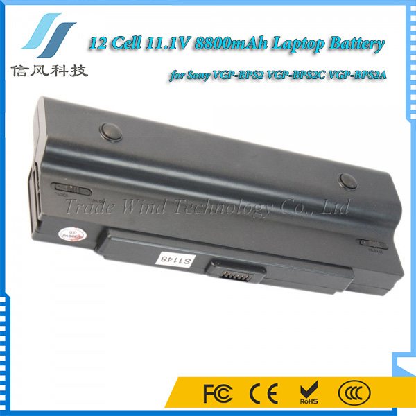 Rechargeable VGP-BPS2 Battery for Sony Vaio VGP-BPS2C VGP-BPS2A