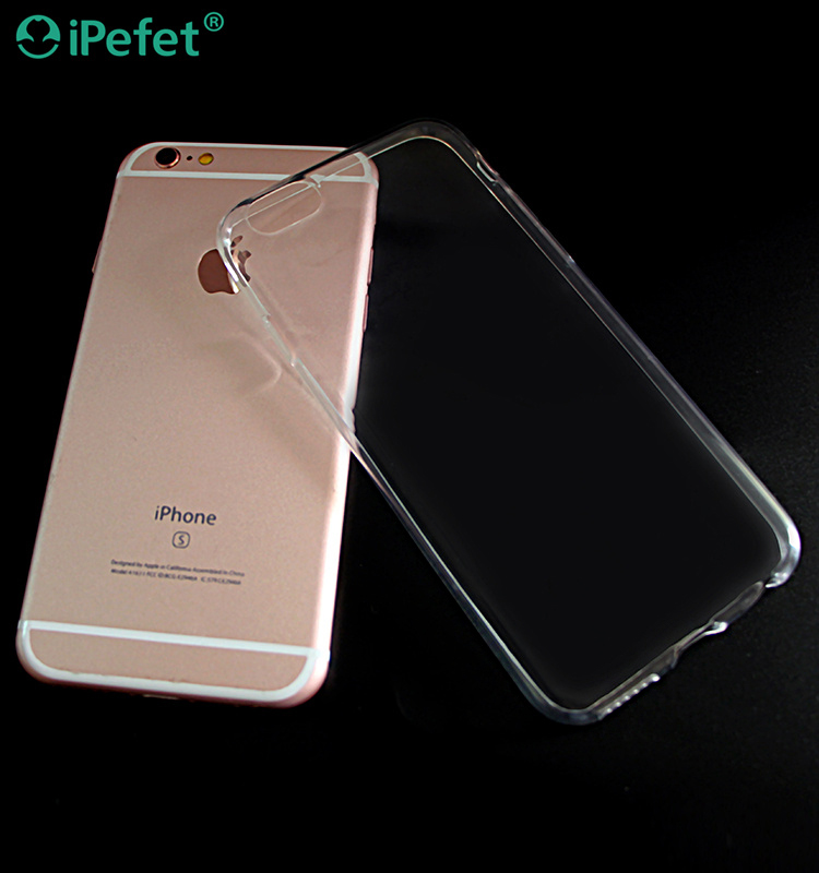 2016 Wholesale Phone Accessories Flexible TPU Cover For iPhone 7 Clear Case