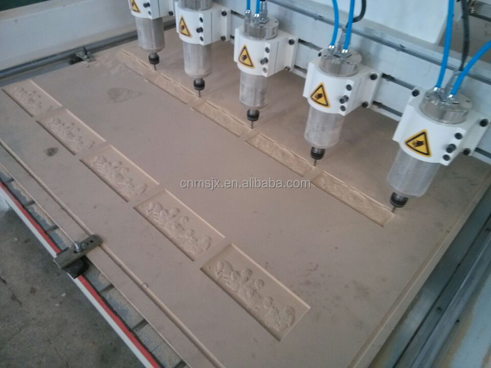 hot sale 4 axis cnc router Wood Machine