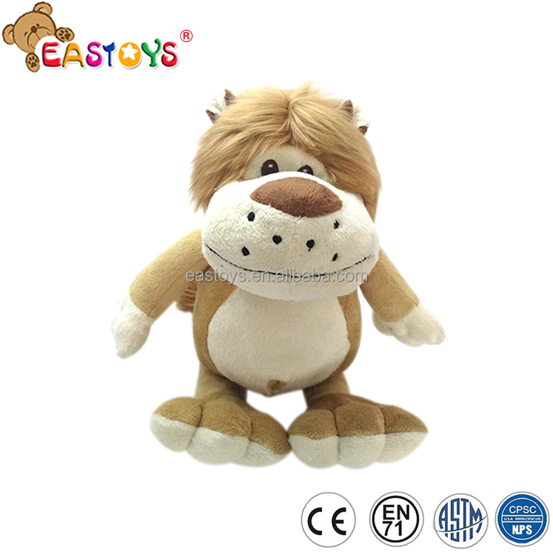 2017 Cute customized soft plush lion for hot sale