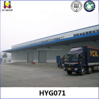 Prefabricated insulated panel cold storage warehouse construction