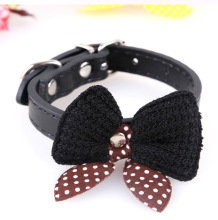 Super beautiful bling dog collar bow tie dog collar