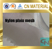 silver color stiff plastic mesh fabric