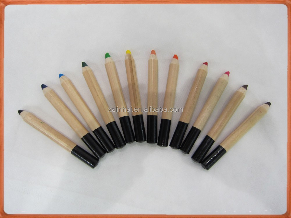 Basswood natural colored hb pencils with EVA grip