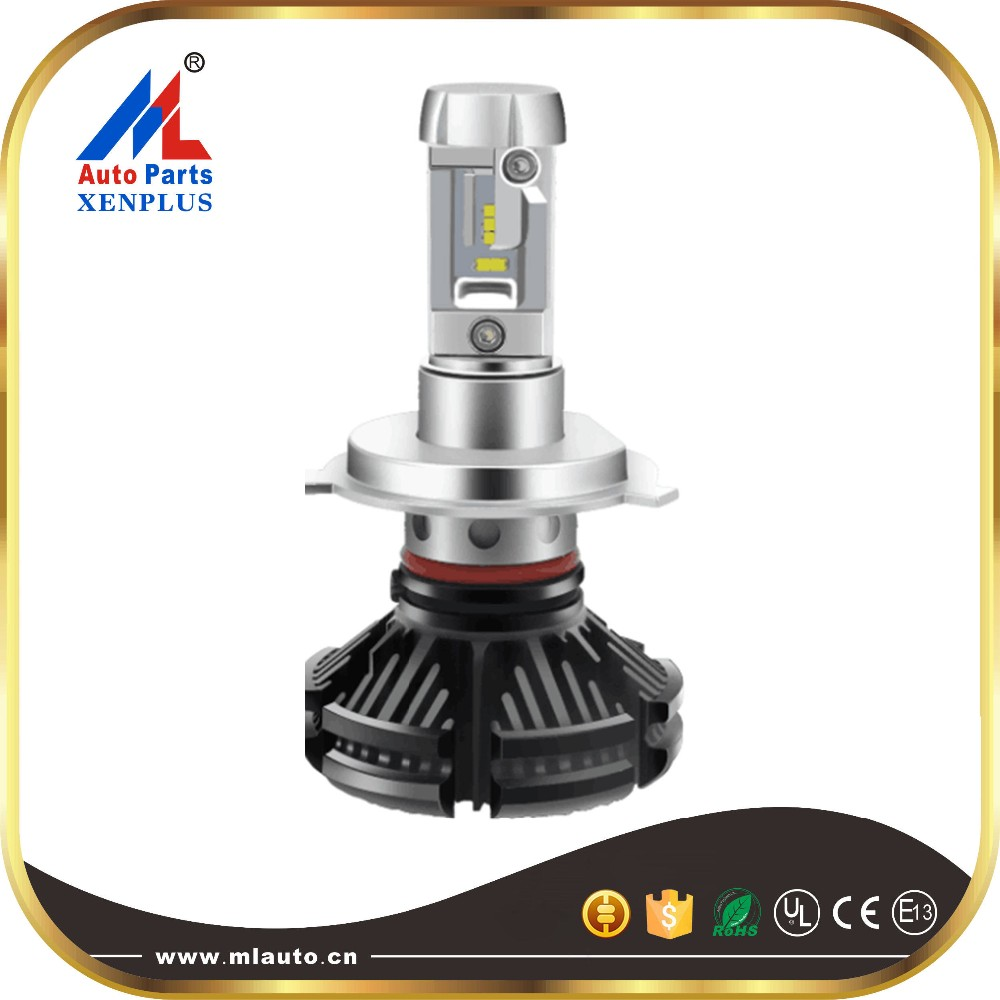 super bright factory direct led headlight E2 36w 4000lm 9006 COB led headlight