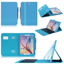 New Designs Fashion Tablet Case With Keyboard Customize Logo Leather Cover For Samsung Tab S2 SM-T810