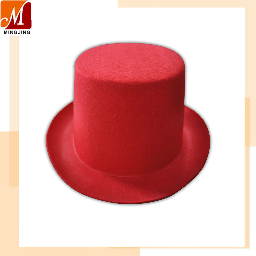 M-014 Red non-woven cowboy hat