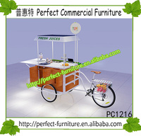 airwheel 2016 street food cart perfume crepes cargo tricycle candy carts for sale