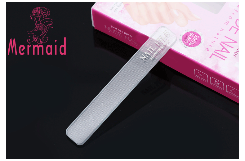 Nail supplies beauty & personal care glass nail file