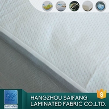 Factory Directly Sale New Designs Waterproof Polyester Fabrics Knitted Breathable Polyester Mesh Fabric