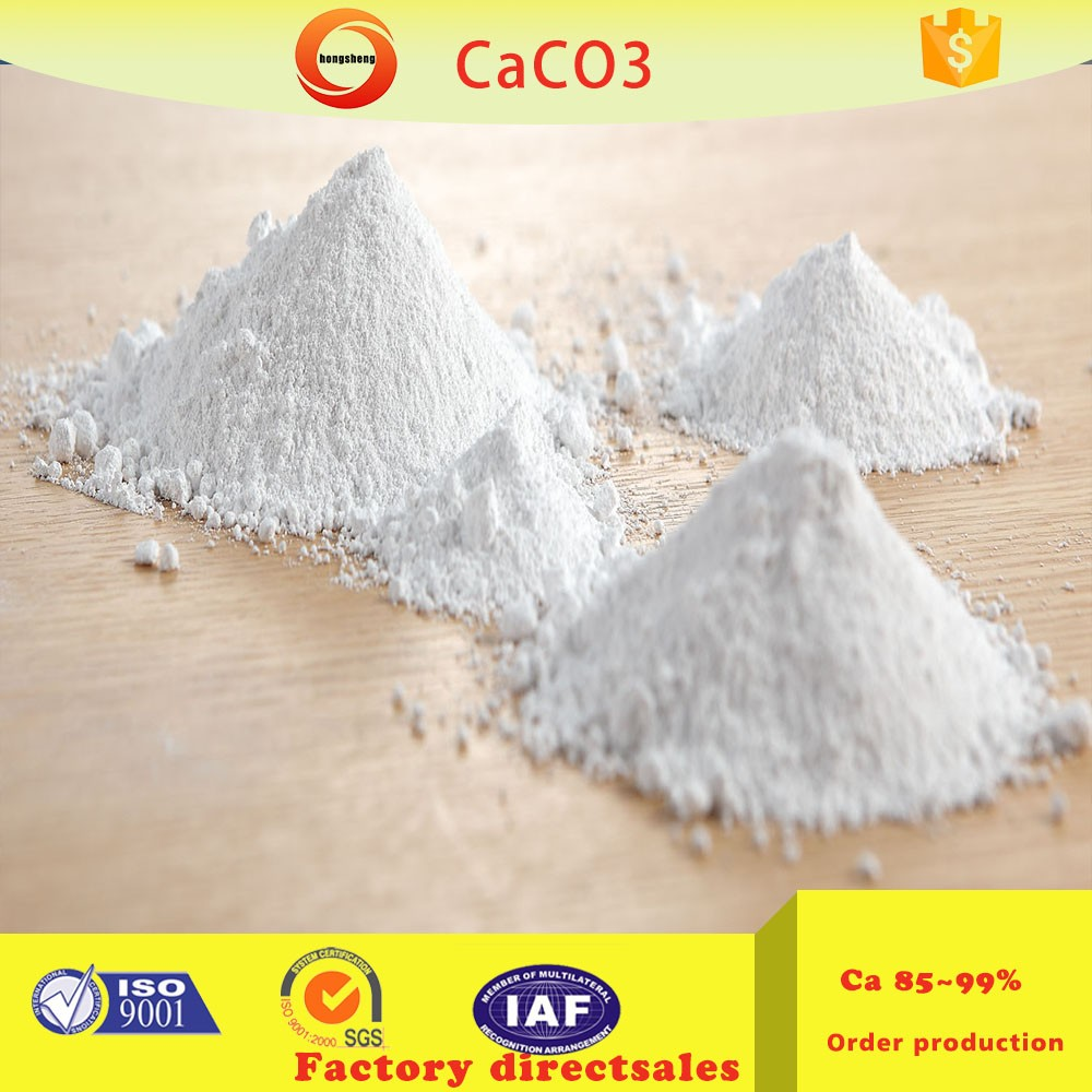 Calcium carbonate for toothpaste industry