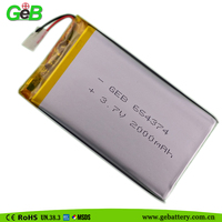 polymer lithium ion 3.7V lipo Rechargeable battery batteries for electric toys/ medical equipment