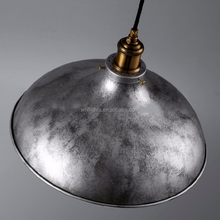 Classic DIY desgin simple style light silver color lampshade pendant for Coffee room
