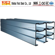 Factory supply Competitive price c steel profile c channel