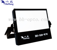 80W Bi-color High CRI LED photography light for studio stage theatre video camera flood