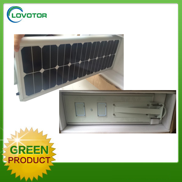 Auto off led solar street light 20watt with motion sensor