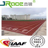 Synthetic athletic track jogging track material