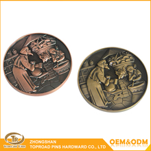 Zhongshan Factory Promotional Artigifts High quality indian old coins sale