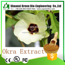 factory supply 10:1,20:1 Plant Viagra Okra for male Extract Powder manufacturer in China