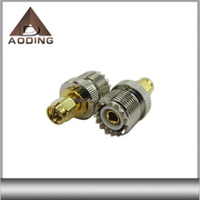 RF coaxial SMA male to UHF female connector adapter