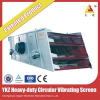 concrete vibrator ykr/ykz series vibrating screen from alibaba china