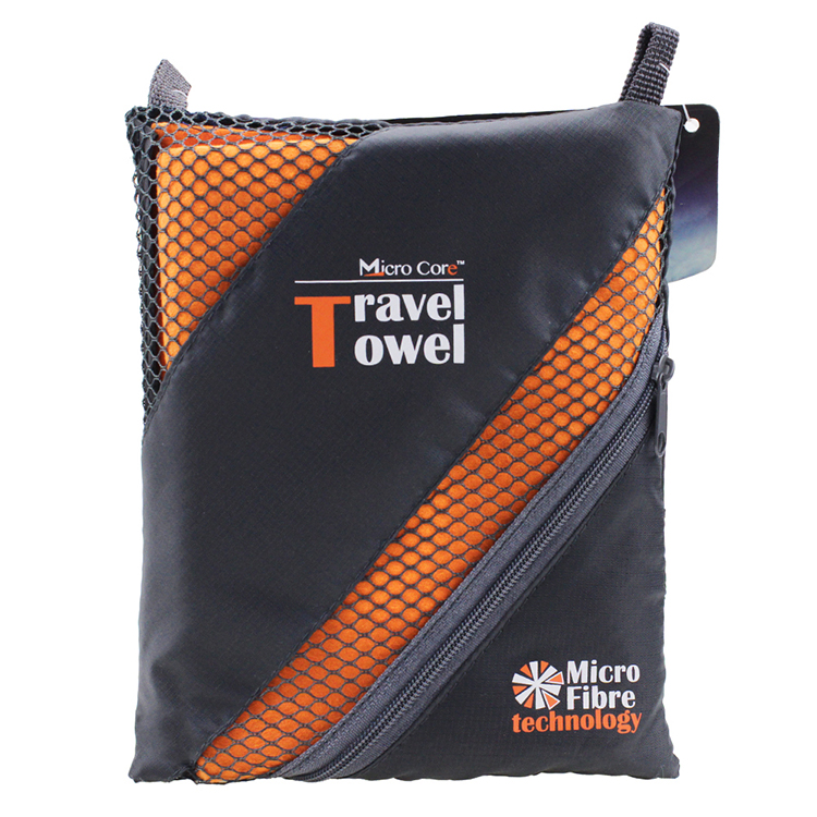 Custom Soft Sports Travel Towel Microfiber Towel Set Fabric Roll