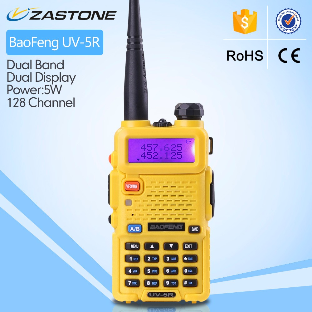 Zastone baofeng UV5R Dual Band 5W Walkie Talkie