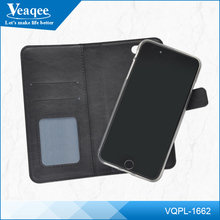 Veaqee Leather mobile Phone Case cover With Magnet Cell Phone Case With Card Slot For iphone android