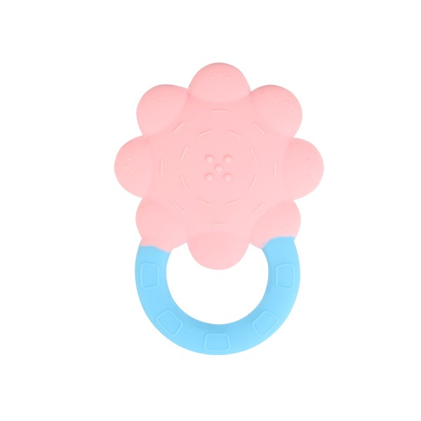 High quality silicone Baby Teether sunflower Teether