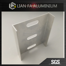 Custom high quality extrusions aluminum cnc sheet parts profiles