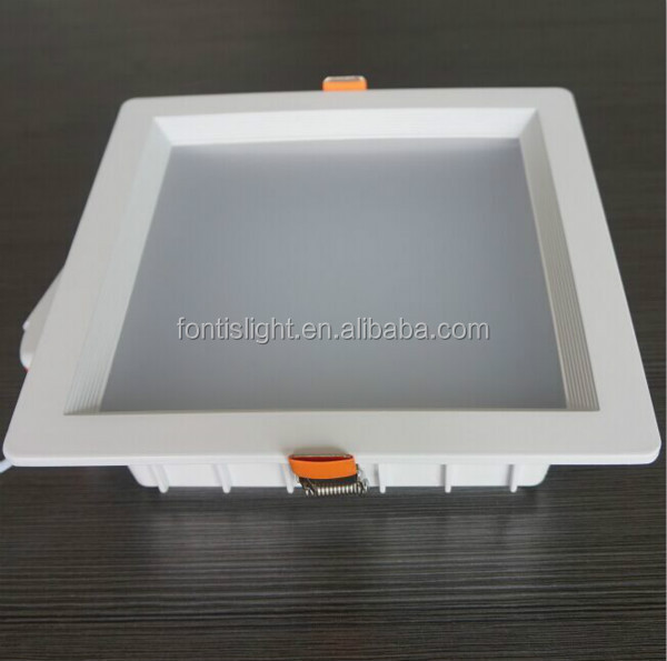 aluminum housing 25W recessed high power square led downlight