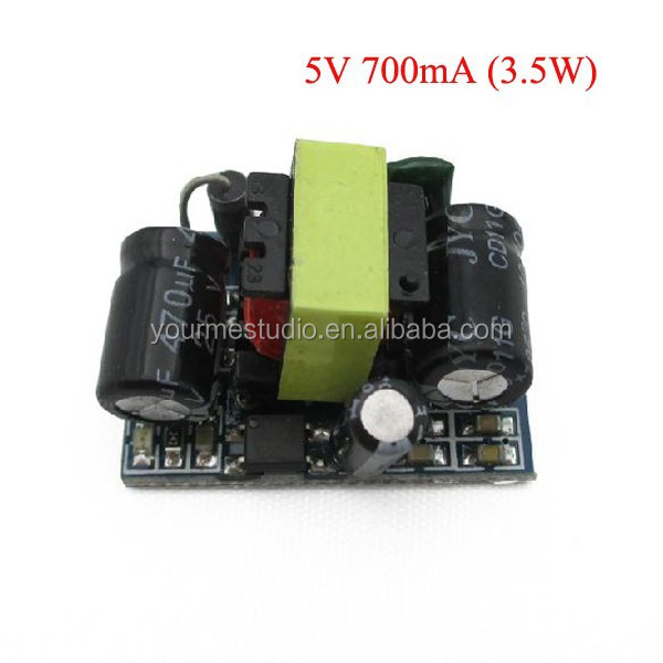 Precision 5V 700mA (3.5W) isolated switching power supply module / AC-DC step-down module
