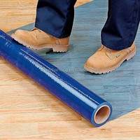 Indian Jumbo Stretch Floor Protective Blue Film For Industry