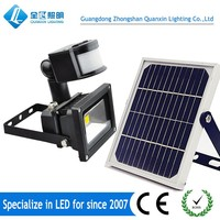 Solar rechargeable 10w 20w 50w led portable camping light 8 hours lead life