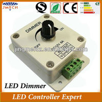 CE &Rohs DC12v 8A 96W led dimmer switch strip led lights dimmer 12V/24V