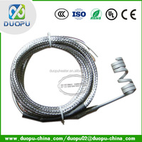 110V/120V Coil Heater Nail Teflon Cable Heating Element