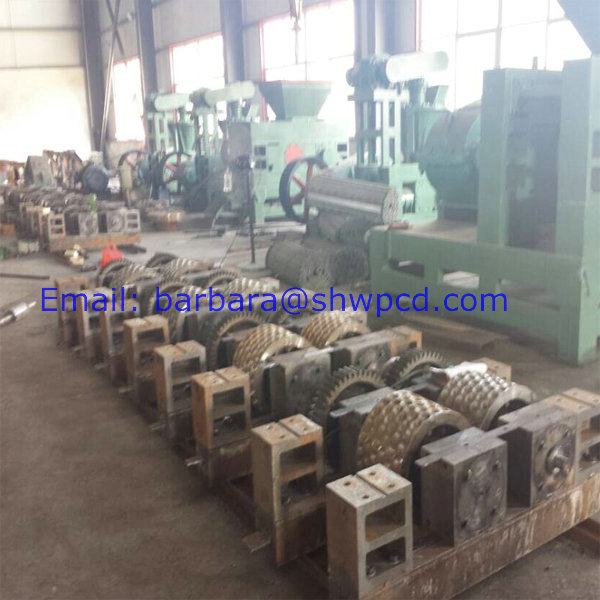 Factory sell coal press machine coal briquetting machine coconut shell charcoal briquette machine (4).jpg