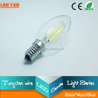 new products on china market led filament bulb e26 2w programmable led light dimmer