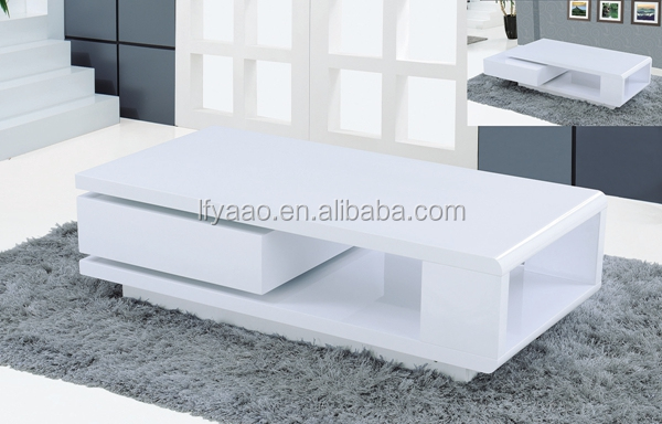 Wholesale cheap high gloss coffee table JY-62