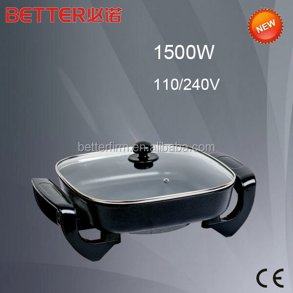 Original Factory square fry pan lid