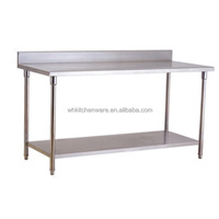 Whole sales kitchen stainless steel tables for bakeries