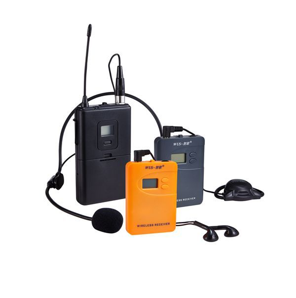 200-300meters long working distance tour earphones receivers WUS800R,Wireless tour guide system, Radio communication system