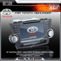 WITSON Special Car Systems Special Car DVD FOR TOYOTA HIGHLANDER