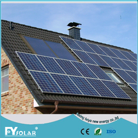 off grid solar panel system 1KW,solar panel mounting with inverter&controller