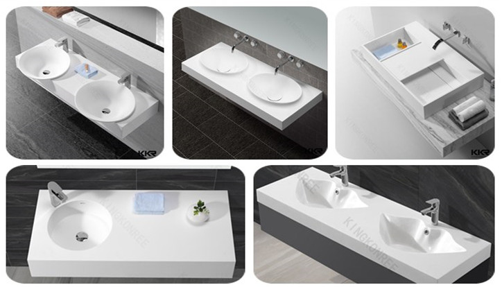 Mini solid surface bowls/ bathroom sink/counter top washbasin
