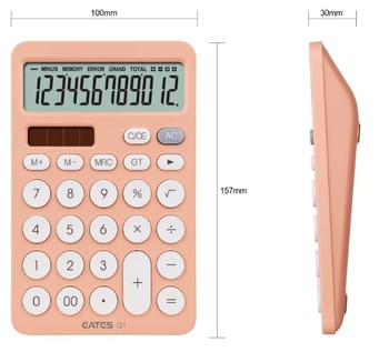 EATES Colorful Promotional and gift basic calculator manufacture
