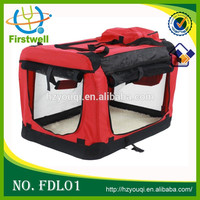 Pet House Soft Crate Carrier Large Cat & Dog Carry Bag